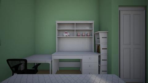 my room - Kids room - by zoe192