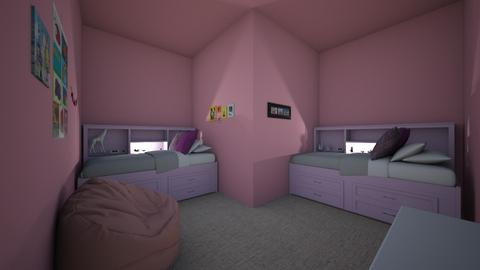 twins room - Kids room  - by MillieBB_fan
