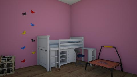small house room 1 - Kids room  - by KatieOfTheCats