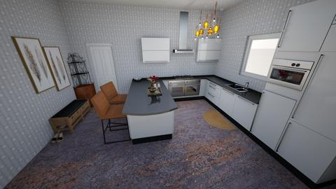 Simple Entry Kitchen - Minimal - Kitchen  - by KajsaRain