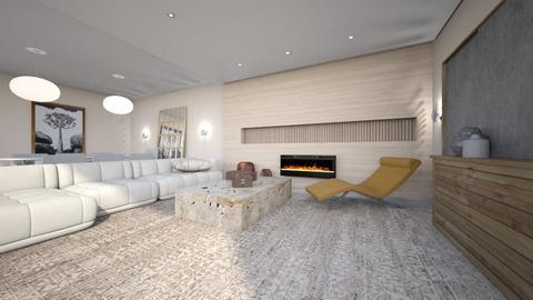 minimalista - Living room  - by ana111