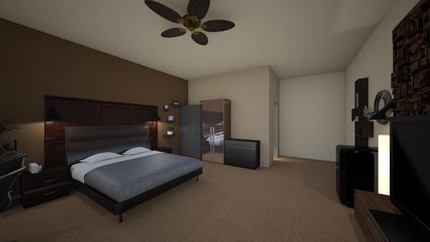 my hero room - Bedroom - by stic