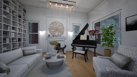 Minimalistic - Minimal - Living room  - by kristenaK