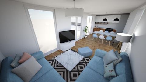Maison Victoria - Minimal - Living room - by Lisha Wang