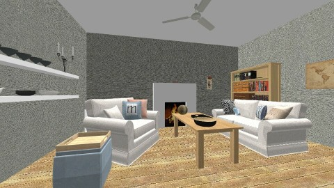 huis 1  - Vintage - Living room  - by Lara Sebti