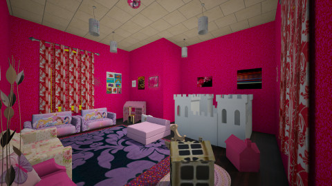 kids room rose - Classic - Kids room  - by Boka i Deki