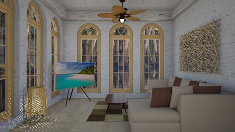 Big Windows Contest - Living room  - by Tupiniquim
