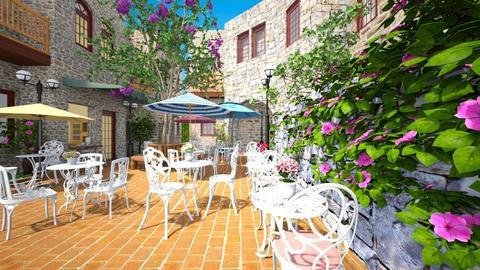 Provence Bistro - Classic - Garden - by Bibiche