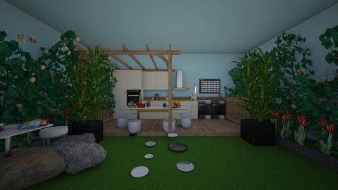 garden  - Country - Garden  - by Eclxpse