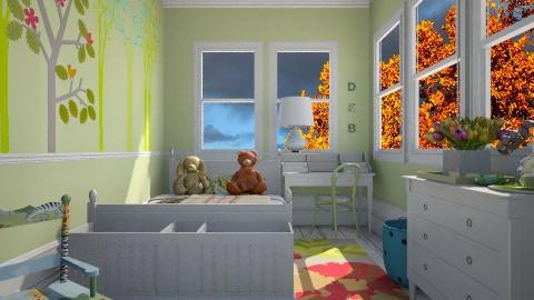 Kiwi Kids - Kids room  - by lauren_murphy