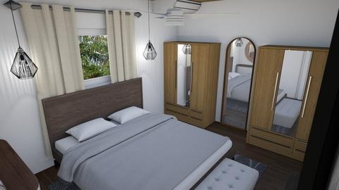 Master bedroom - Bedroom - by alejavsantos