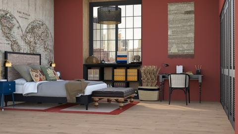 Il mondo - Bedroom  - by Charipis home
