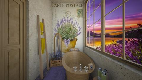 Lavender  - Bathroom  - by daydreamer84