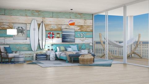 Nautical Bedroom - Bedroom  - by Feeny
