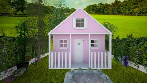 ugly  house - Garden  - by Malshi
