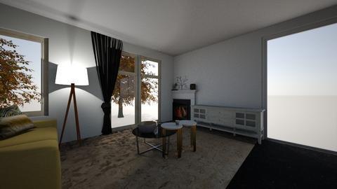 Banyasz utca nappali 3 - Modern - Living room  - by Beata Lukacs