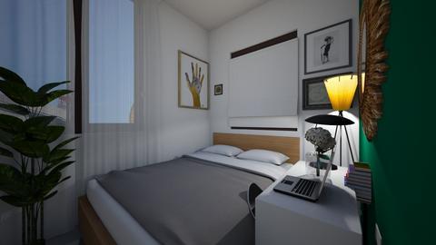 Bedroom Wall Decor v2 3 - Modern - Bedroom  - by MissChellePh