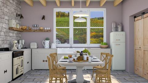 farm house - Kitchen  - by zozan