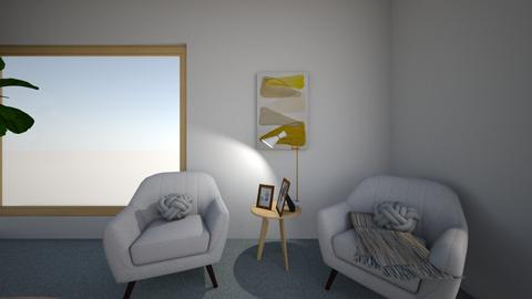 Option 1 View 1 - Living room  - by chaerae