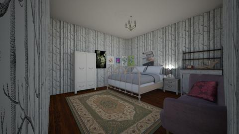 The Fairest One of All - Vintage - Bedroom  - by kittytarg