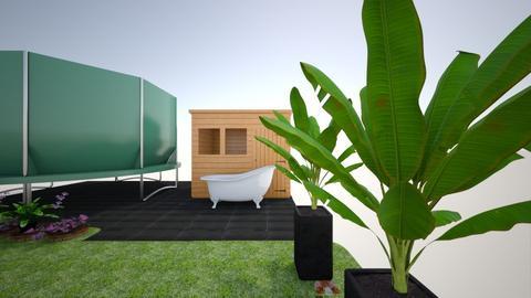 mama tuin deel1 - Garden  - by filip van nijlen