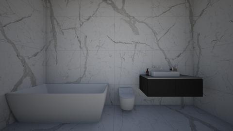 Marble Bathroom - Bathroom  - by meandu