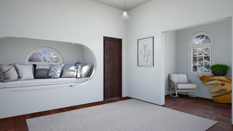 Winter hall way - by FANGIRLdesigner