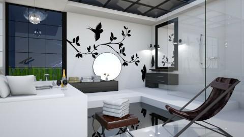 Bird Bath - Modern - Bathroom  - by yonvie