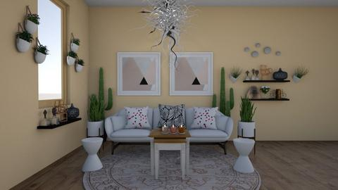 cute - Living room - by canelita