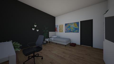 e - Bedroom  - by hewooo