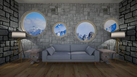 mountains for KittyT6 - Living room  - by Its hamzah