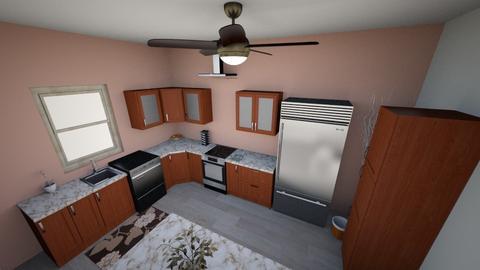 dim kitchen - Kitchen  - by 1eatramen