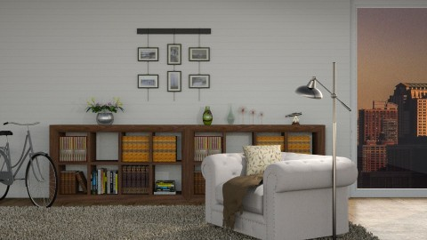 Minimalistic - Minimal - Living room  - by Lissii08