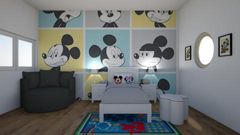 Mickey Mouse Bedroom - Kids room  - by Ariella_