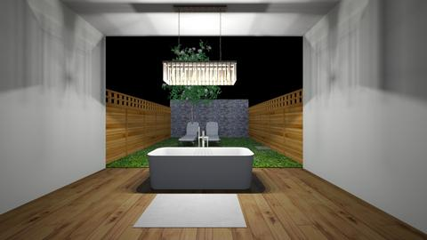 BAGNO SU GIARDINETTO - Bathroom  - by Juliette J