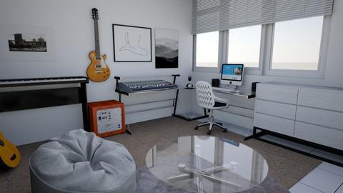 Studio bedroom - Modern - Bedroom  - by Syafrial