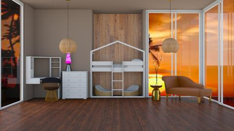 beach bedroom for kids - Kids room  - by Coco_Iover