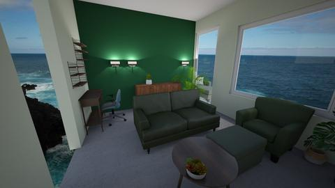 living room with 2sit - Living room  - by dorienb