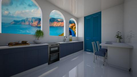 Modern Greek Kitchen - Kitchen  - by Tanem Kutlu