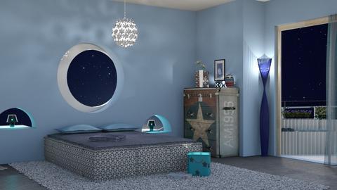 night bedroom - Bedroom  - by nat mi