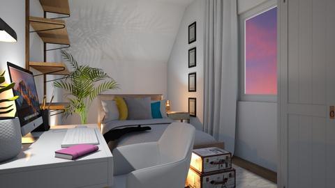Small room - Modern - Bedroom  - by laura cunaku