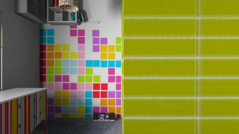 Reading Rainbow - Modern - Kids room  - by krgee
