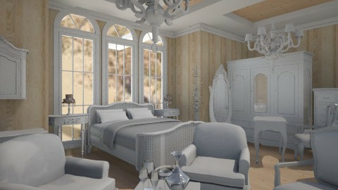 french - Country - Bedroom  - by Sherrycress