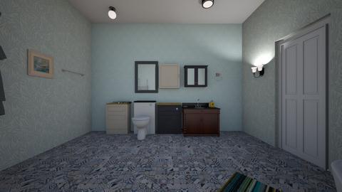 Blue Bath View - Bathroom  - by mspence03