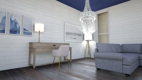 living room desk - by 62358764875