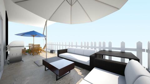 OM Terrace 2pc b rec tbl - Rustic - by LMIcallef
