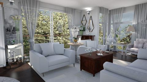 White Room - Classic - Living room  - by LuzMa HL