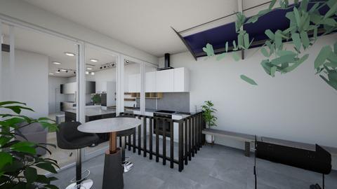 Open Sky w Bar w op kitch - Living room  - by laichiongwee