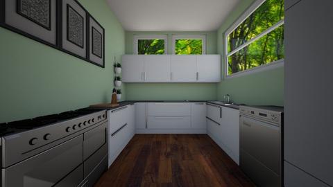 Kitchen - by azzieflowers