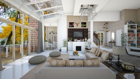 family home - Modern - Living room  - by Ida Dzanovic